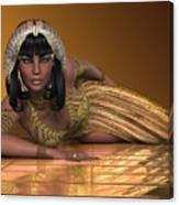 Egyptian Priestess Canvas Print