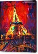 Eifell Tower By Svetlana Novikova ( All Canvas Print