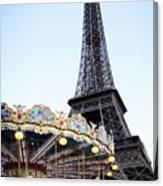 Eiffel Tower 7 Canvas Print