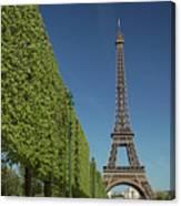 Eiffel Tower-9 Canvas Print
