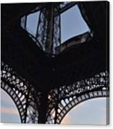 Eiffel Tower Corner Canvas Print