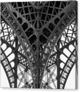 Eiffel Tower Leg Canvas Print