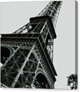 Eiffel Tower Slightly Askew Canvas Print