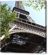 Eiffel Tower Spring Canvas Print