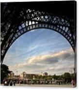 Eiffel Tower View Canvas Print