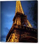 Eiffel's Magic Canvas Print