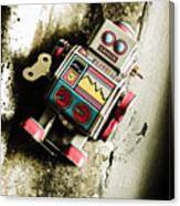 Eighties Cybernetic Droid  Canvas Print