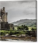 A Bonnie Wee Castle Canvas Print