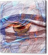 Ein Augenblick 17042 Canvas Print