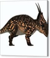 Einiosaurus Side Profile Canvas Print