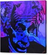 Einstein-all Things Relative Canvas Print