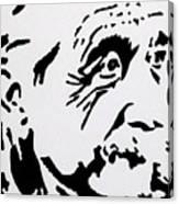 Einstein Waiting In Line Canvas Print