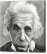 Einstein's Eyes Canvas Print