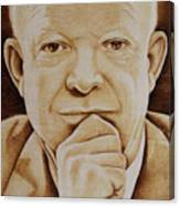 Eisenhower - The Man  Canvas Print