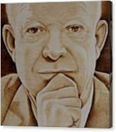 Eisenhower The Man - Poster Canvas Print