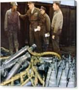 Eisenhower: Wwii, C1944 Canvas Print