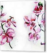 Either Orchid Canvas Print