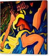 El Abrazo 1 Canvas Print