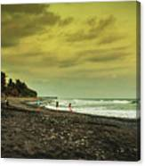 El Beach - El Salvador Canvas Print