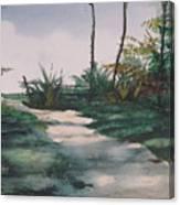 El Camino De La Manana Canvas Print