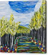 El Camino - Primavera - The Path - Spring Canvas Print
