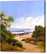 El Capitan Beach Canvas Print