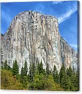 El Capitan In Yosemite National Park Canvas Print