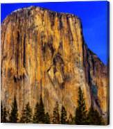 El Capitan Mountain Canvas Print