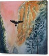 El Capitan  Sunset Canvas Print