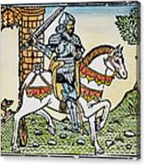 El Cid Campeador (1040?-1099) Canvas Print