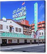 El Cortez Hotel On Fremont Street 2.5 To 1 Ratio Canvas Print