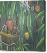 El Cucu De Mango Canvas Print