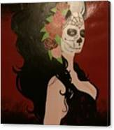 El Dia De Los Muertos  Canvas Print