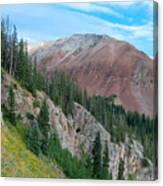 El Diente Peak Canvas Print