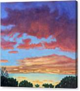 El Dorado Sunset Canvas Print