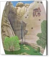 El Estanque Del Penol Canvas Print