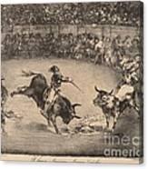 El Famoso Americano, Mariano Ceballos (the Famous American, Mariano Ceballos) Canvas Print