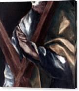 El Greco: St. Andrew Canvas Print