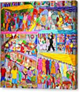 El Mercado Canvas Print