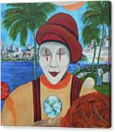 El Payaso Es Canvas Print