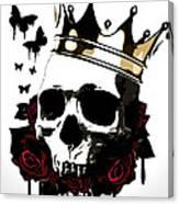 El Rey De La Muerte Canvas Print