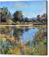 El Rito Sunrise Canvas Print
