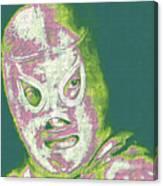 El Santo The Masked Wrestler 20130218v2m80 Canvas Print