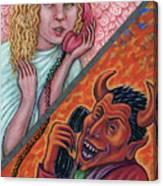 El Telefono Canvas Print