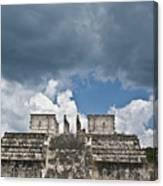 El Templo De Las Columnas  1 Canvas Print