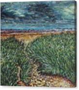 El Viento Del Mar Canvas Print