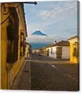 el Volcan Canvas Print