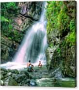 El Yunque Rain Forest Waterfall Canvas Print