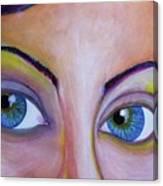 Ela - Face Canvas Print