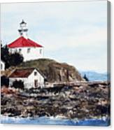 Eldred Rock Lighthouse Canvas Print